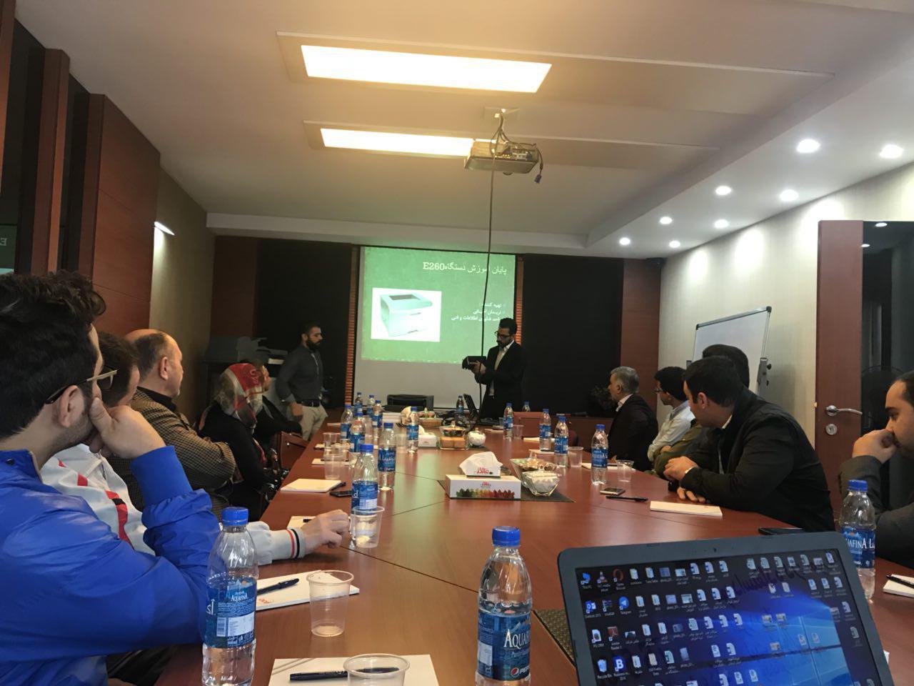 برگزاری کارگاه آموزشی تعمیرات تخصصی پرینترهای لکسمارک