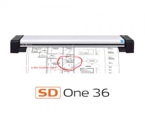 اسکنر نقشه Contex SD One 36