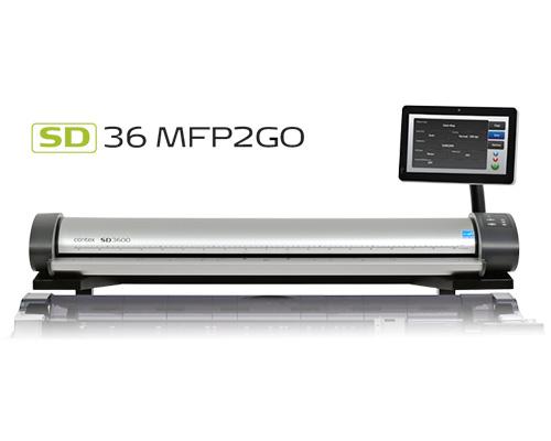 دانلود درایور اسکنر نقشه SD36 MFP2GO